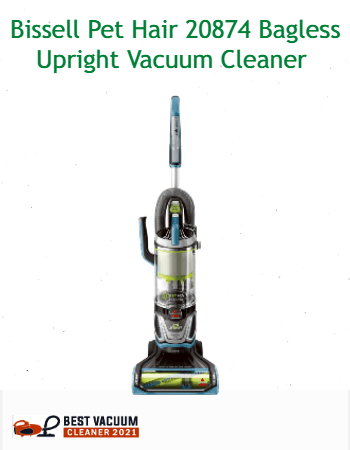 Bissell Pet Hair 20874 Bagless Upright Vacuum Cleaner