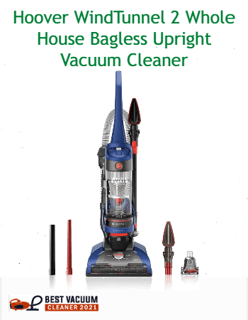Hoover WindTunnel 2 Whole House Bagless Upright Vacuum Cleaner