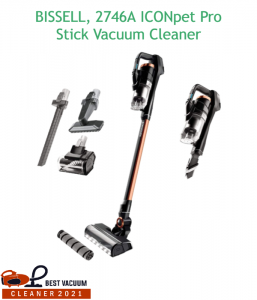 BISSELL, 2746A ICONpet Pro Stick Vacuum Cleaner