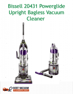 Bissell 20431 Powerglide Upright Bagless Vacuum Cleaner