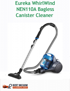 Eureka WhirlWind NEN110A Bagless Canister Cleaner