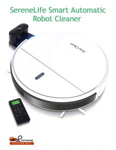 SereneLife Smart Automatic Robot Cleaner