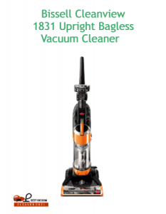 Bissell Cleanview 1831 Upright Bagless Vacuum Cleaner